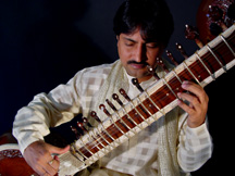 Indrajit Banerjee sitar concerts and lessons